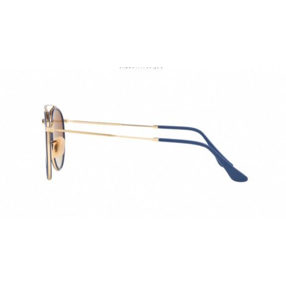 6d4a55e90db8be Gafas Ray-Ban Rb3647N 001 9U 51 Gold Gradient Brown Mirror ...