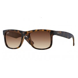 Gafas Ray-Ban Justin  Rb4165 710/13 55  rubber light havana