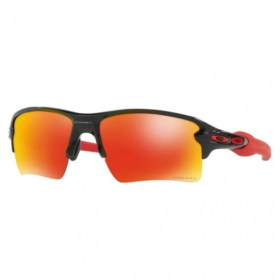 a7a417f4f1 Gafas Oakley Flak 2.0 Xl Oo9188-80 Polished Black Prizm Ruby ...