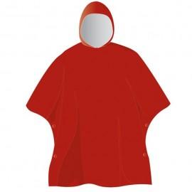 Poncho impermeable Elementerre Bantou rojo adulto