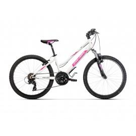 """Bicicleta Conor 440 24"""" Blanco/Rosa"""