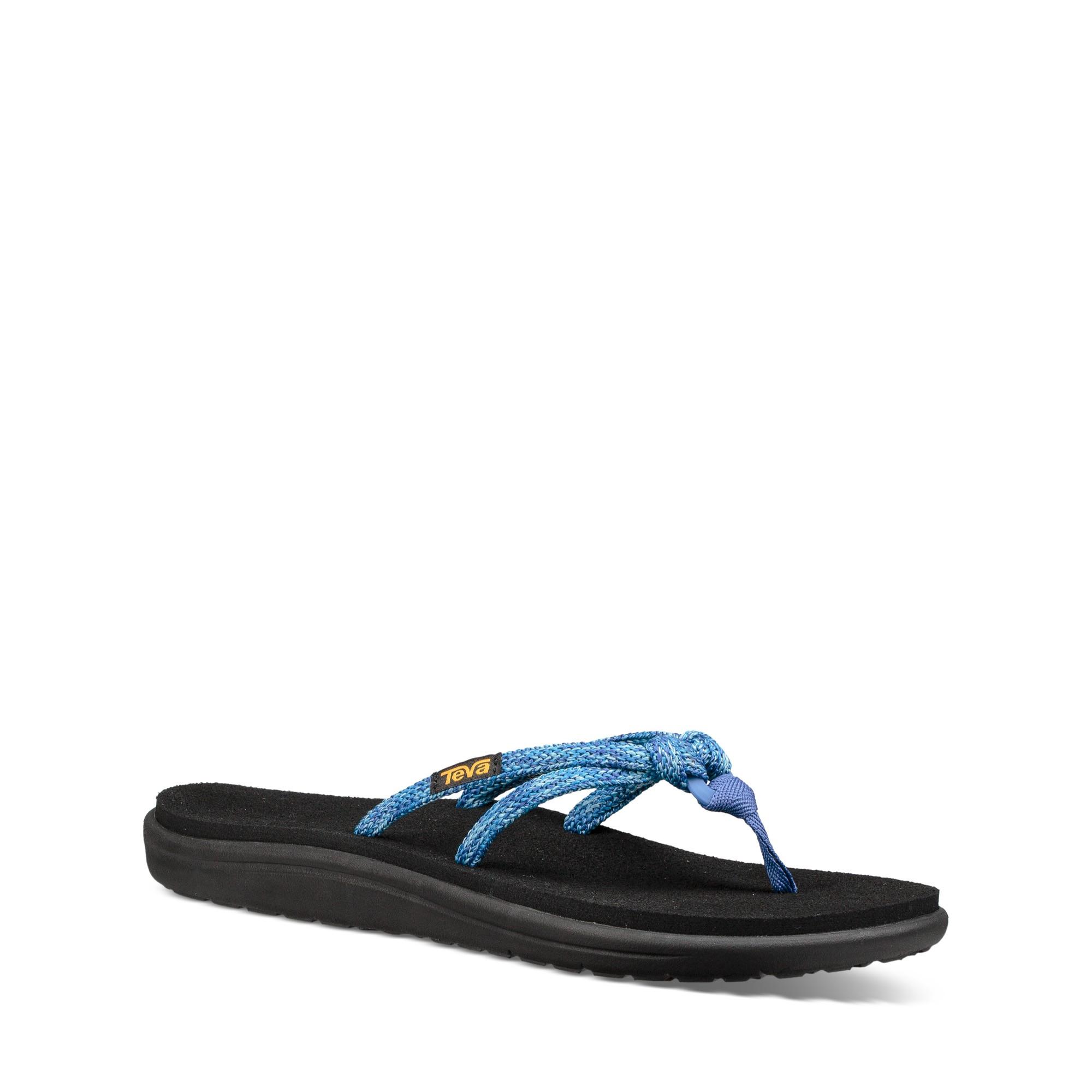 Moya W Flip Deportes Tri Teva Sandalias Voya Dedo Mujer Azul 7gYb6fvy