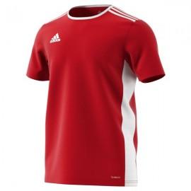 Camiseta Adidas Entrada 18 Jsy rojo niño