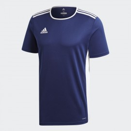 Camiseta Adidas Entrada 18 Jsy azul oscuro niño