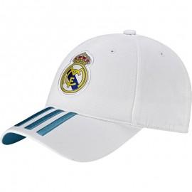 Gorra Adidas Real Madrid blanco/turquesa