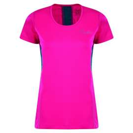 Camiseta Dare2b Aspect running rosa mujer