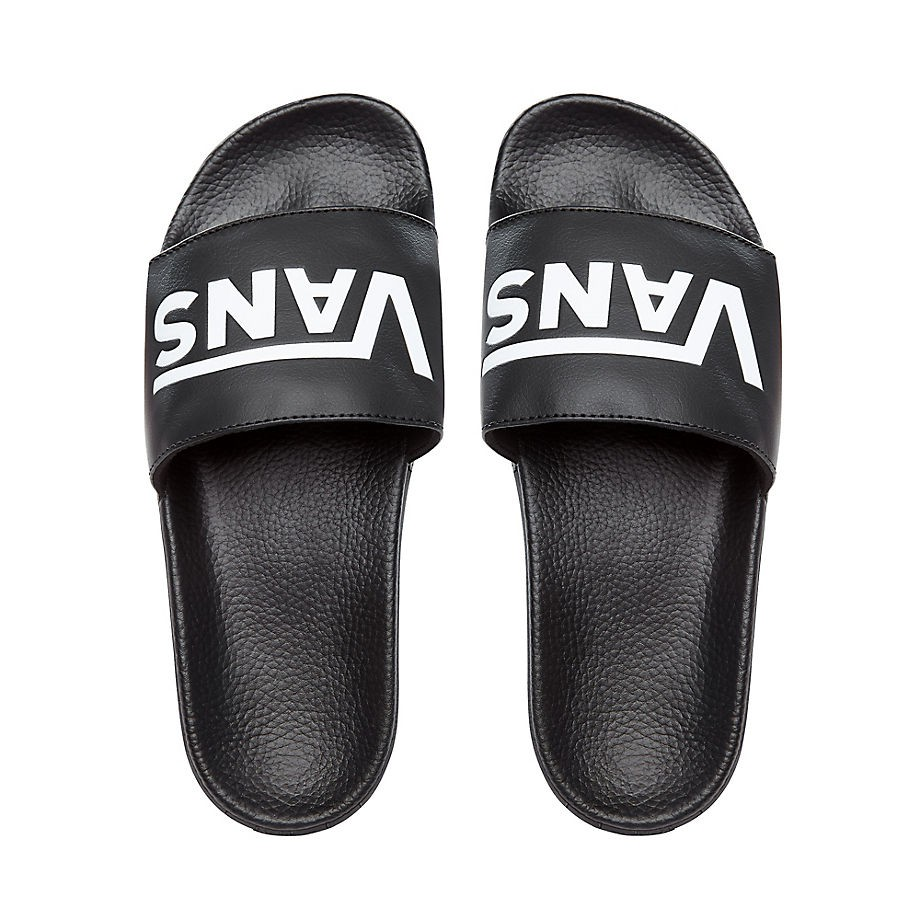 Moya Venta De Chanclas Vans On Slide Negro Hombre Deportes 8nw0OPk