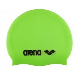 Gorro Silicona Arena Classic verde fluor