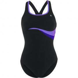 Bañador AquaSphere Zolan morado negro mujer