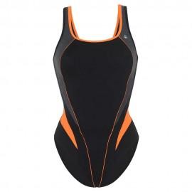 Bañador AquaSphere Lita negro/naranja mujer