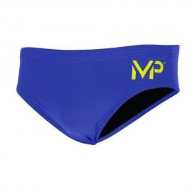 Bañador AquaSphere Competición 8cm Brief Solid azul hombre