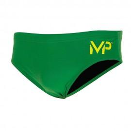 Bañador AquaSphere Competición 8cm Brief Solid verde hombre