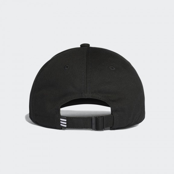 Gorra adidas Trefoil negra