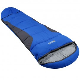 Saco de dormir montaña campamento Regatta Hilo Boost azul