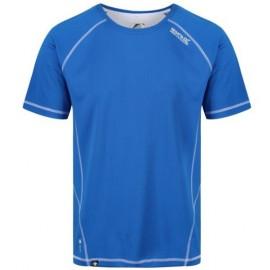 Camiseta tecnica montaña Regatta Virda II azulon hombre
