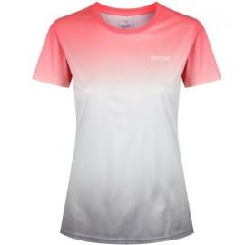 Camiseta outdoor Regatta Fingal III coral mujer