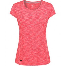 Camiseta outdoor Regatta Hyperdimension coral mujer