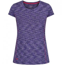 Camiseta outdoor Regatta Hyperdimension morado mujer
