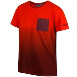 Camiseta senderismo Regatta Tyren naranja hombre