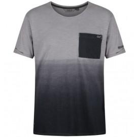 Camiseta senderismo Regatta Tyren gris hombre