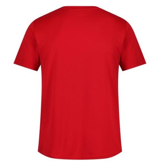 Camiseta senderismo Regatta Tancredo rojo hombre