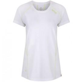 Camiseta senderismo Regatta Virda II blanco mujer