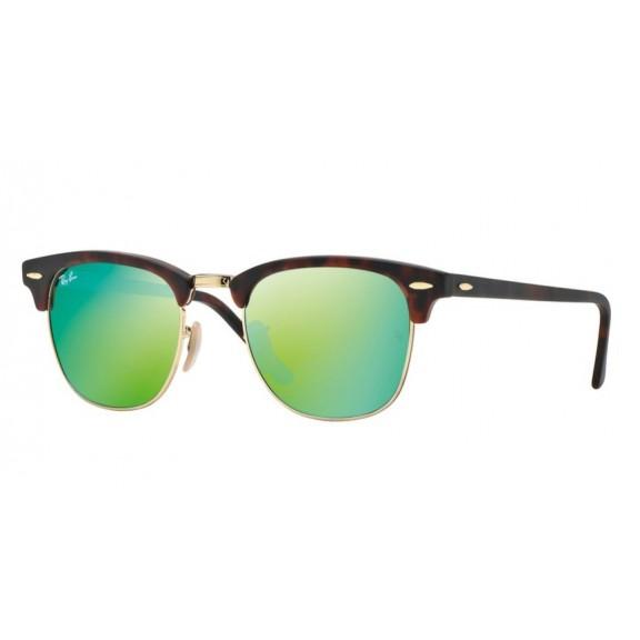 Gafas  Ray-Ban Clubmaster Rb3016 havana green mirror