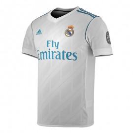 Camiseta futbol Adidas Real h jsy ucl blanco hombre