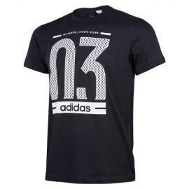 Camiseta Adidas O3 negro hombre