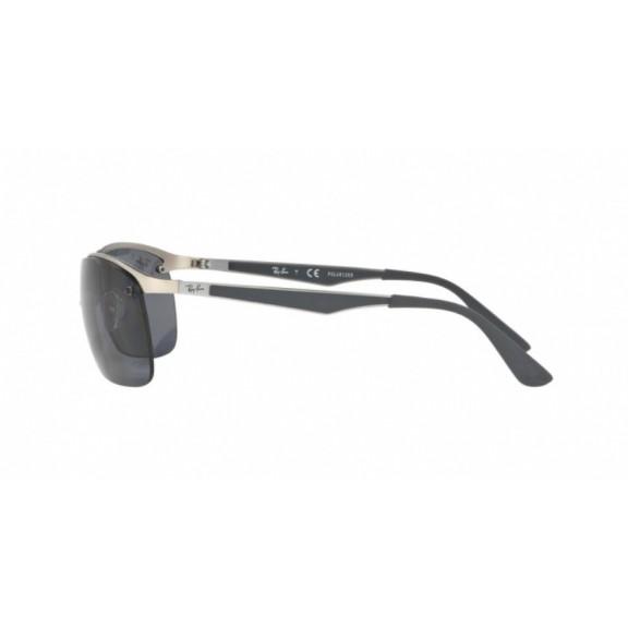 Gafas Ray-Ban Rb3550 019/81 64 matte silver/polar grey