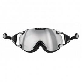 Mascara Casco Fx-70 Carbonic negro plata