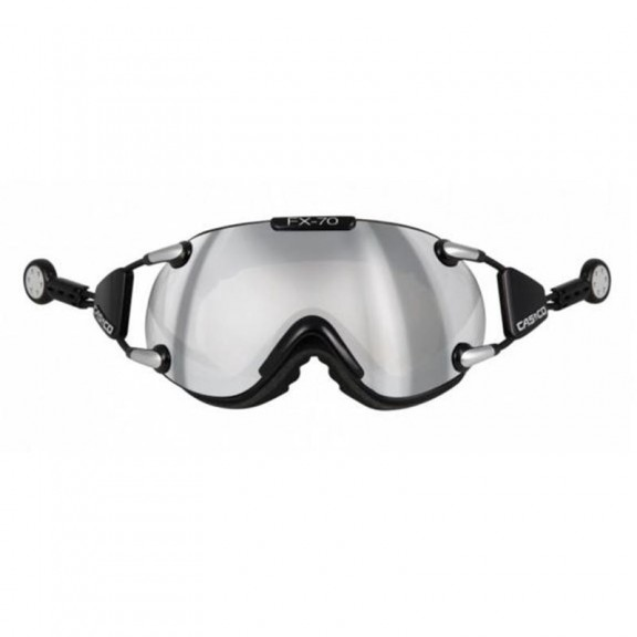 Casco Fx-70 Carbonic Black Silver 5002