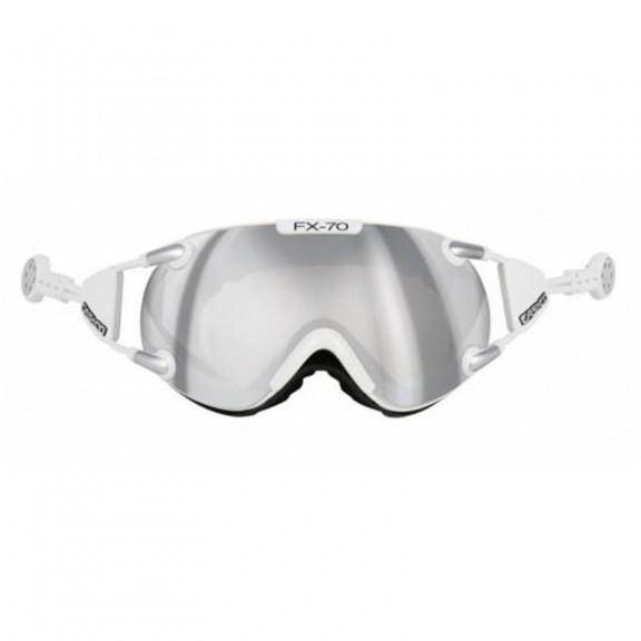 Casco Fx-70 Carbonic White Silver 5017