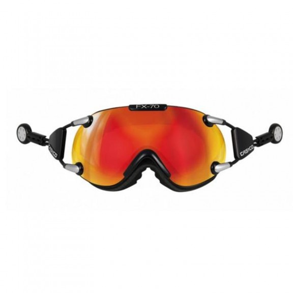 Casco Fx-70 Carbonic Black Orange 5076
