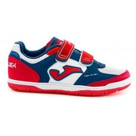 Zapatillas Fútbol Joma Top Flex 820 junior rojo/blanco