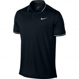 Polo NikeCourt Dry Tennis negro hombre