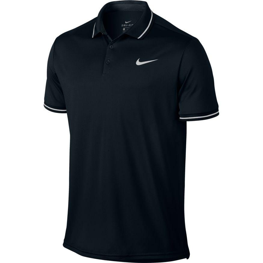 d2939c5d0e Comprar Polo Nikecourt Dry Tennis Negro Hombre - Deportes Moya