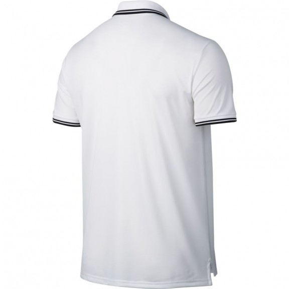 Polo NikeCourt Dry Tennis blanco hombre