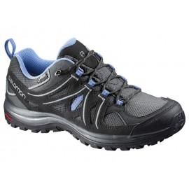 Zapatillas trekking Salomon Ellipse 2 GTX gris/negro mujer
