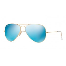 Gafas Ray-Ban Aviator Rb3025 112/17 58 large blue mirror