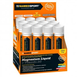 Vial Super Magnesium liquid 280mg NamedSport (1 unidad)