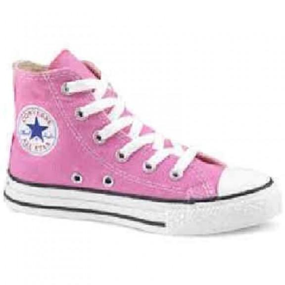 c85be9060 Zapatillas Converse All Star Hi Rosa Infantil - Deportes Moya