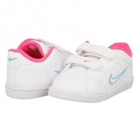 Zapatillas Nike Court Tradition 2 Plus blanco rosa bebe