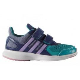Zapatillas adidas Hyperfast 2.0 Cf i verde azul bebe