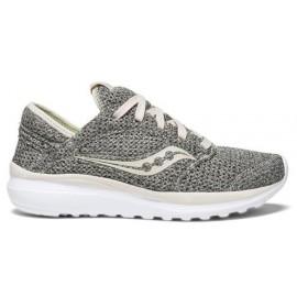 Zapatillas de running  Saucony Kineta Relay gris beige mujer
