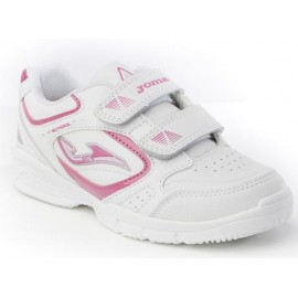 Zapatillas Joma W School 510 blanco rosa junior