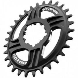 Plato Rotor QRings DM SRAM BOOST 3mm OffSet 30T Negro