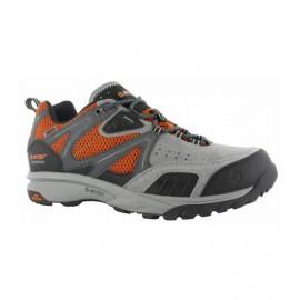 Zapatillas trekking Hi-Tec Razon Low Wp gris/naranja hombre