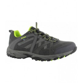 Zapatillas trekking Hi-Tec Accelerate Wp gris/lime hombre