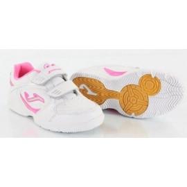 Zapatillas Joma W School  400 blanco rosa junior